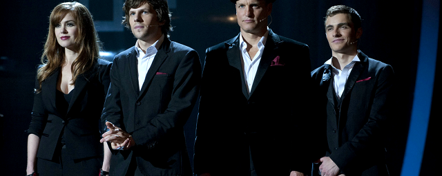 Now You See Me - I maghi del crimine - (Louis Leterrier, 2013) - Recensione - Con Jesse Eisenberg, Mark Ruffalo, Woody Harrelson, Mélanie Laurent, Isla Fisher