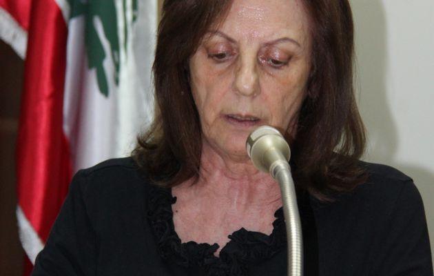 Entretien avec la secrétaire-générale adjointe du Parti communiste libanais Marie Nassif-Debs