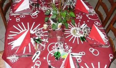 TABLES DE FETE