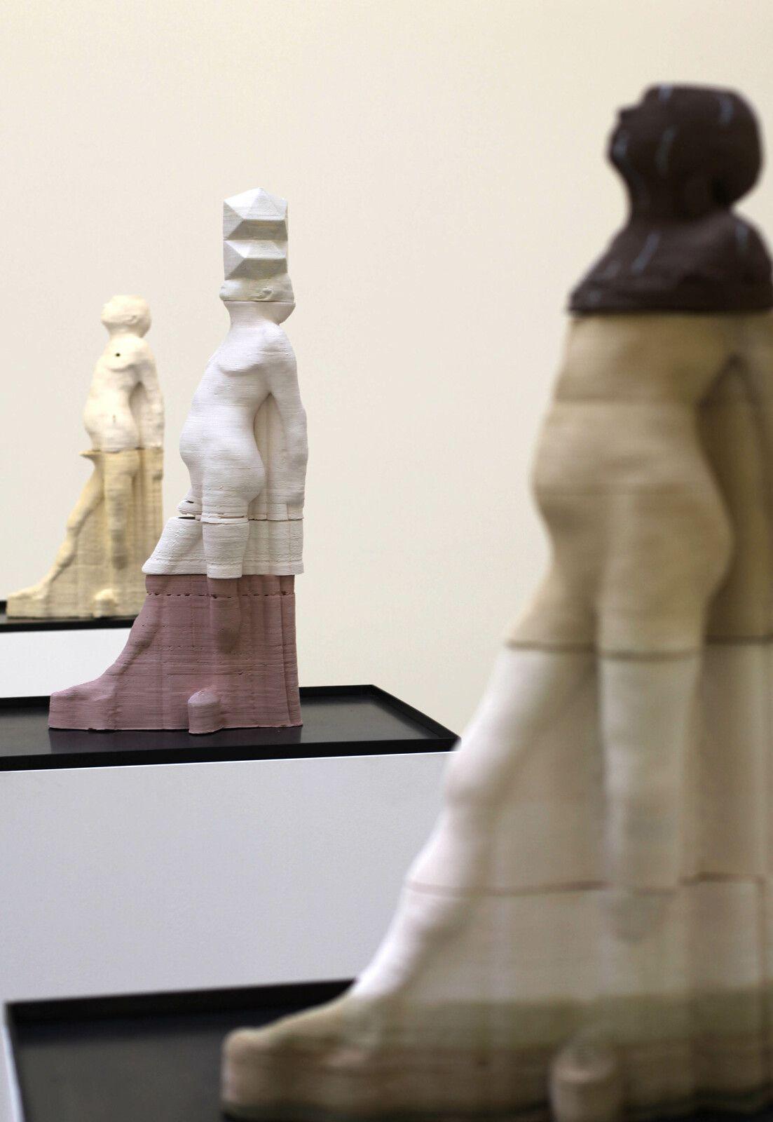 """""""Impressions, après Degas (#024)"""", 2020 de Antoine RENARD - Courtesy de l'artiste et de la Galerie Nathalie Obadia © Photo Éric Simon"""