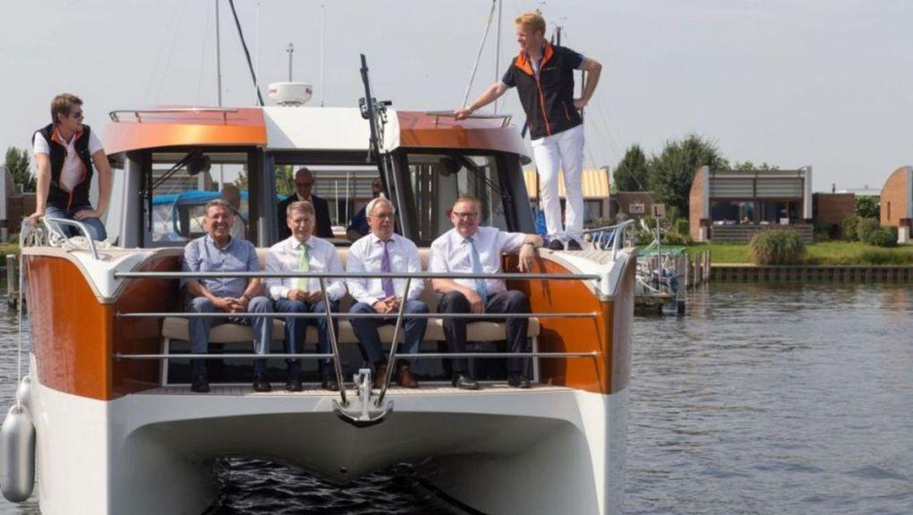 Découverte du Dutchcat 12, le catamaran motoryacht modulable par excellence