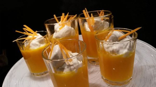 SMOOTHIE CAROTTES CHANTILLY AU CURRY