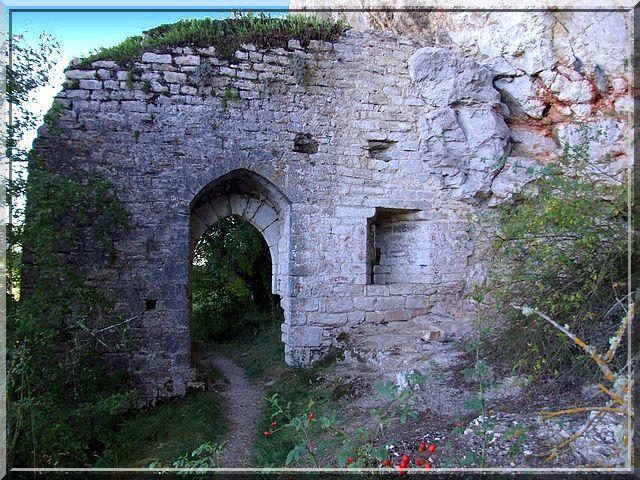 Diaporama château des Anglais de BRENGUES