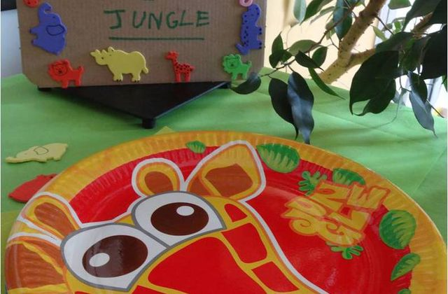 "Sa ""jungle party"" des 3 ans : un anniversaire plein d'animaux !"