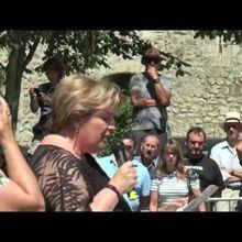 25 juin Colmars les Alpes fête Saint Jean-Baptiste  vidéo  du discours
