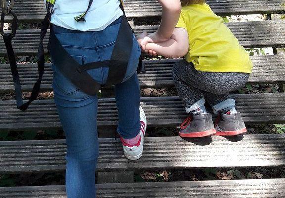 Découverte de l'accrobranche pour les loustics : parcours baby et enfant !