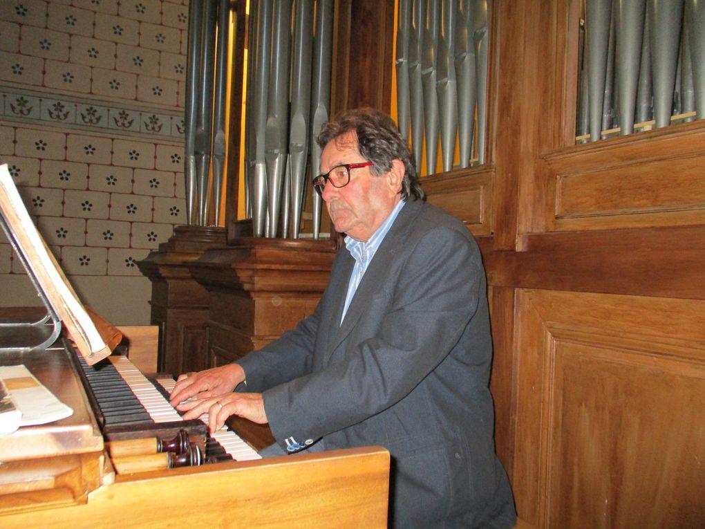La classe d'orgue à Marvejols
