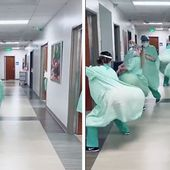 Twitter Cries Conspiracy As Videos of Dancing Nurses go Viral