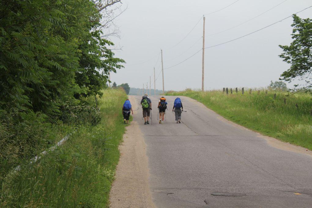 Chemin des Outaouais, un pèlerinage de 12 jours, 230 kms entre Ottawa et Montréal