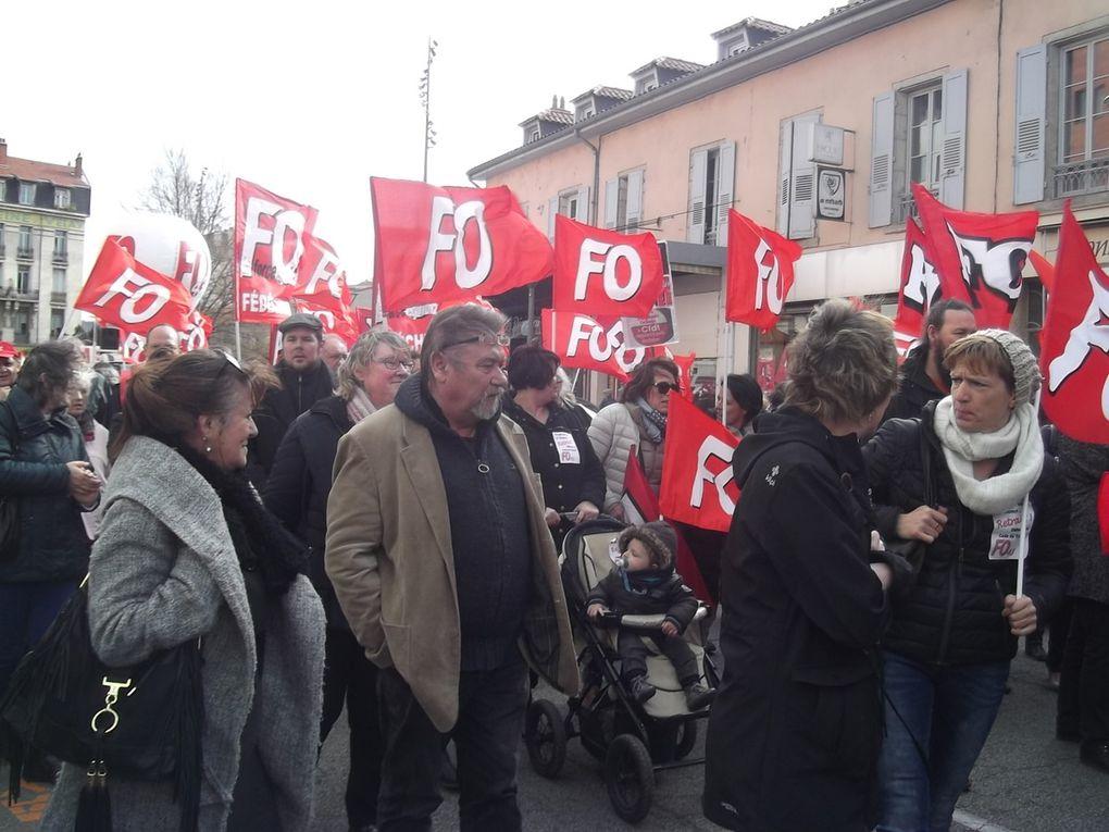 """31 mars : 5 000 manifestants au Puy-en-Velay mobilisés contre la """"loi Travail""""!"""