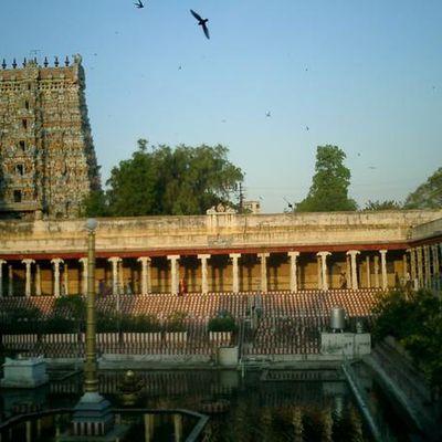 un des fameux temples