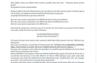 Lettre ouverte de Bernard Baude au Président de la République, suite aux nouvelles mesure de confinement