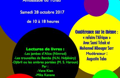 2ème édition de  la rentrée littéraire tchadienne à Paris