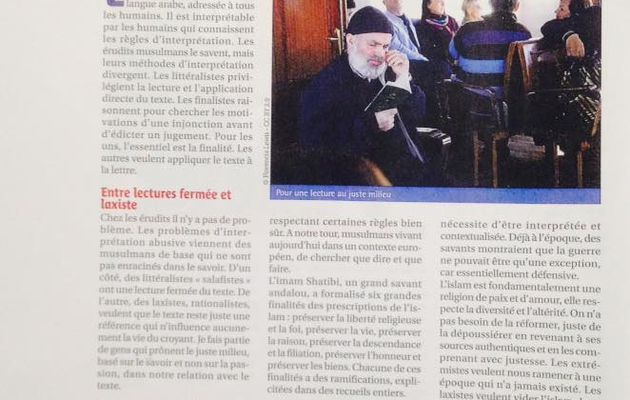 Un article sur Echanges : le magazine protestant régional.