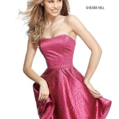 Sherri Hill 51365 Plum Sherri Hill 51687 Black In Gorgeouspromdresses