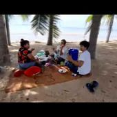Chonburi officials visit local beaches, warn against eating, gathering, and socializing.