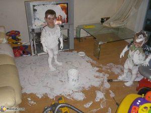 Le jour où mon plus jeune fils a pris de bonnes résolutions...