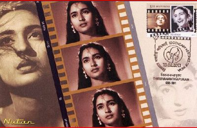 Indian cinema on stamps