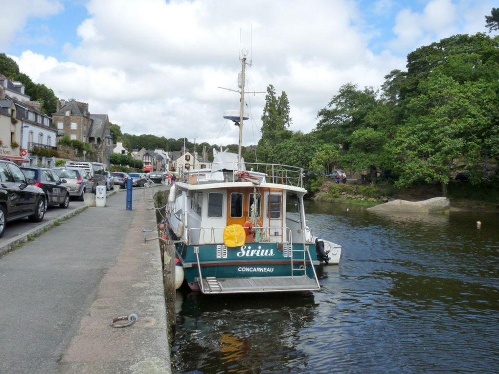 SIRIUS , a quai dans le port de Pont Aven (29) le 14 septembre 2009