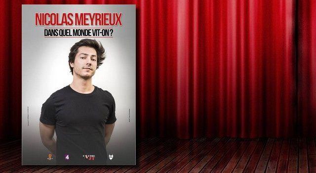 """Nicolas Meyrieux, """"Dans quel monde vit-on?"""""""