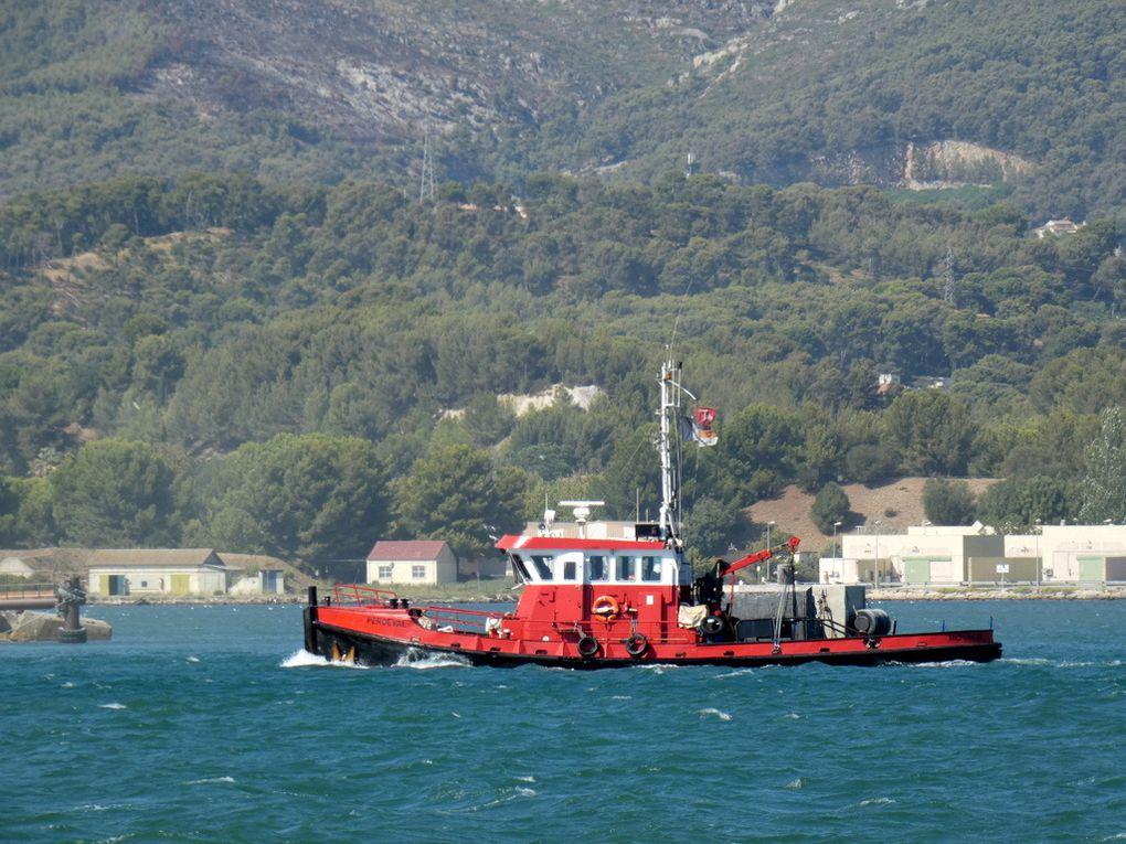 PERCEVAL , en transit en petite rade de Toulon le 02 septembre 2019
