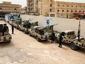"""En Libye les troupes du maréchal HAFTAR ressucitent la """" Jeep LRSM """""""