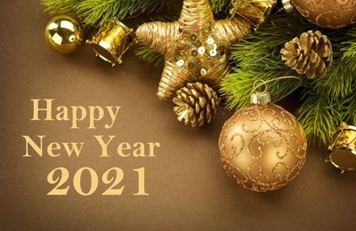 Happy New Year 2021 - Décorations - Fêtes - Wallpaper - Free