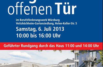 Veitshöchheimer BFW lädt am 6. Juli 2013 zum Tag der Offenen Tür ein