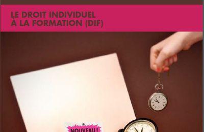 DIF : Droit Individuel à la Formation