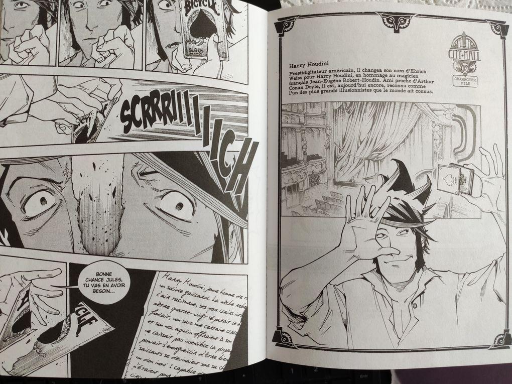 City Hall - Tome 2. Rémi GUERIN et Guillaume LAPEYRE – 2012 (Manga)