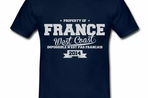 T-Shirt France West Coast BM