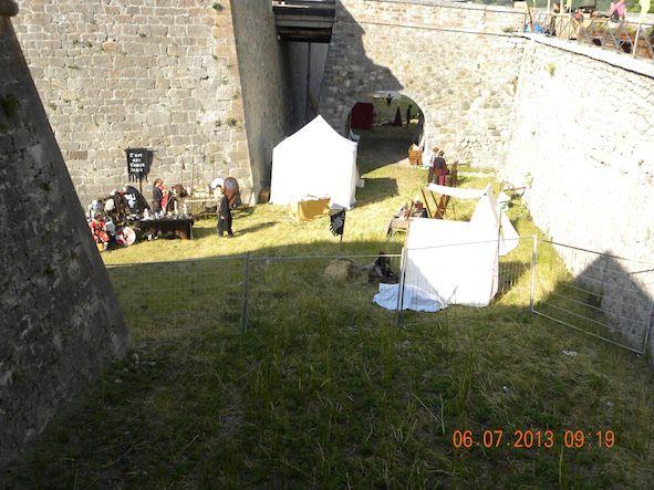VIIIème fête médiévale à Briançon, du soleil, de la bonne humeur et la fête. Deux jours de détente et de plaisir