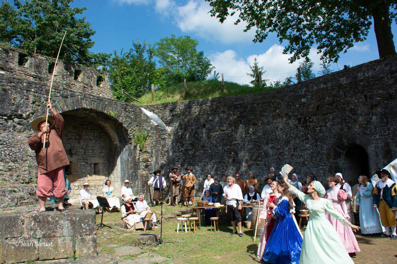 RECONSTITUTION : IL Y A 4 SIECLES, LOUIS XIII DEBARQUAIT A NAVARRENX POUR RETABLIR SON AUTORITE