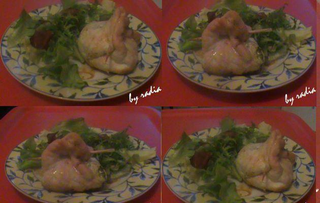 Escalope de poulet à la ricotta..........Mmmm j'adore