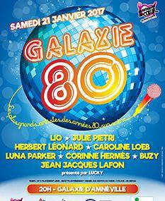 Amneville Galaxie 80, un concert au profit des Restos du Coeur  le 21 janvier 2017