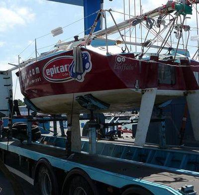 112 - Retour du bateau sur Marans