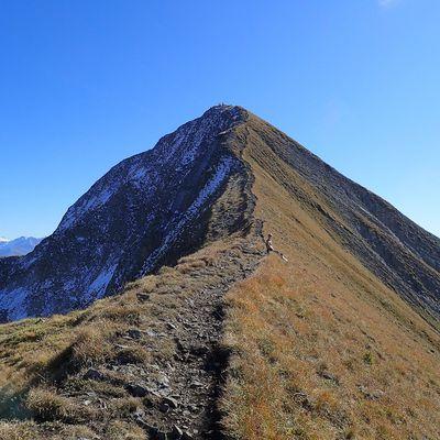 Mont Charvin : Boucle Combe W > Arête du lac