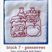 "Jenny of ELEFANTZ: Block 7 of 'My Vintage Kitchen""..."