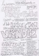 Ce vendredi : Le Quintet d'improvisation