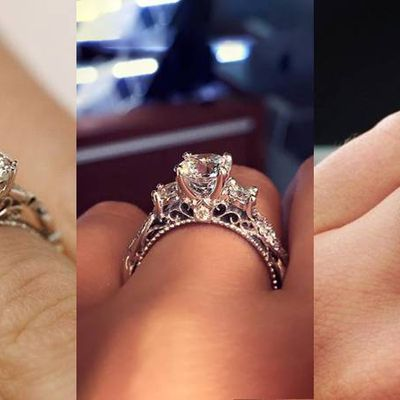 Diamond Solitaire Rings – Then & Now