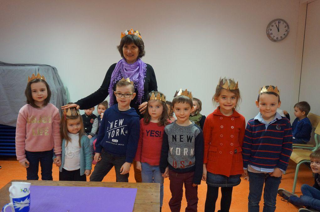 Les galettes des Rois à l'école de Bréal