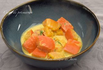Curry de potimarron