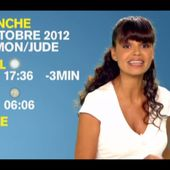 [2012 10 27] LAURENCE ROUSTANJEE - M6 - METEO @19H40