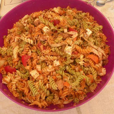 Salade de Pâtes au Paprika