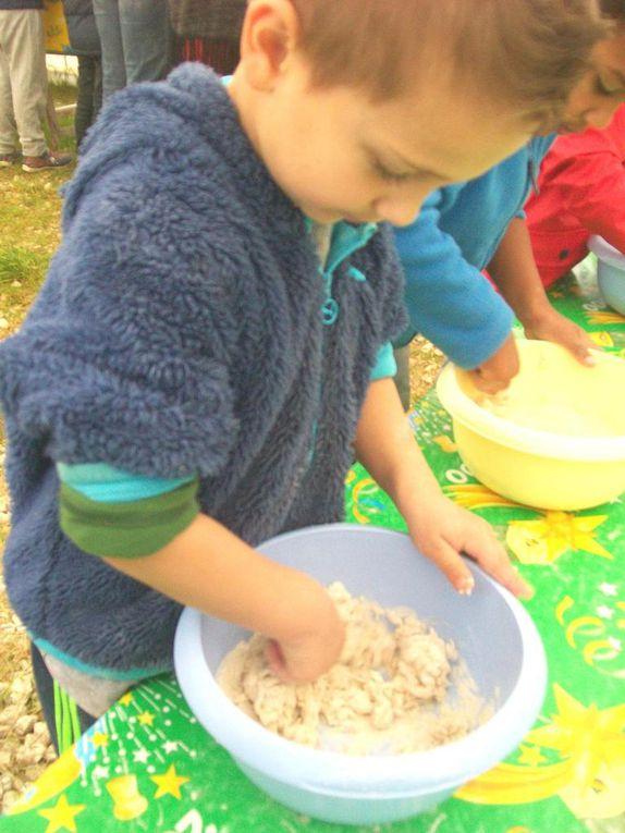 La fabrication du pain à la ferme du Chaudron Magique