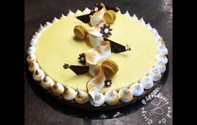 Tarte au citron sur sablé breton