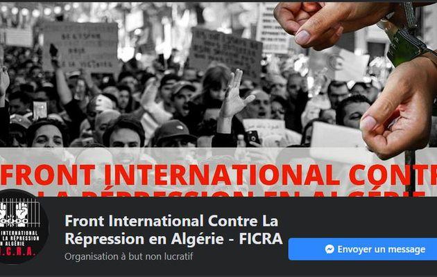 Algérie: création du Front International Contre la Répression en Algérie ( FICRA)
