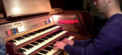 Kavinski au grand orgue