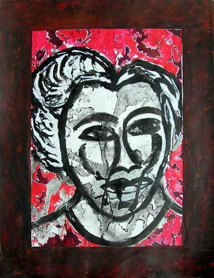 Danielle Reissner, peintures 2008 (I)