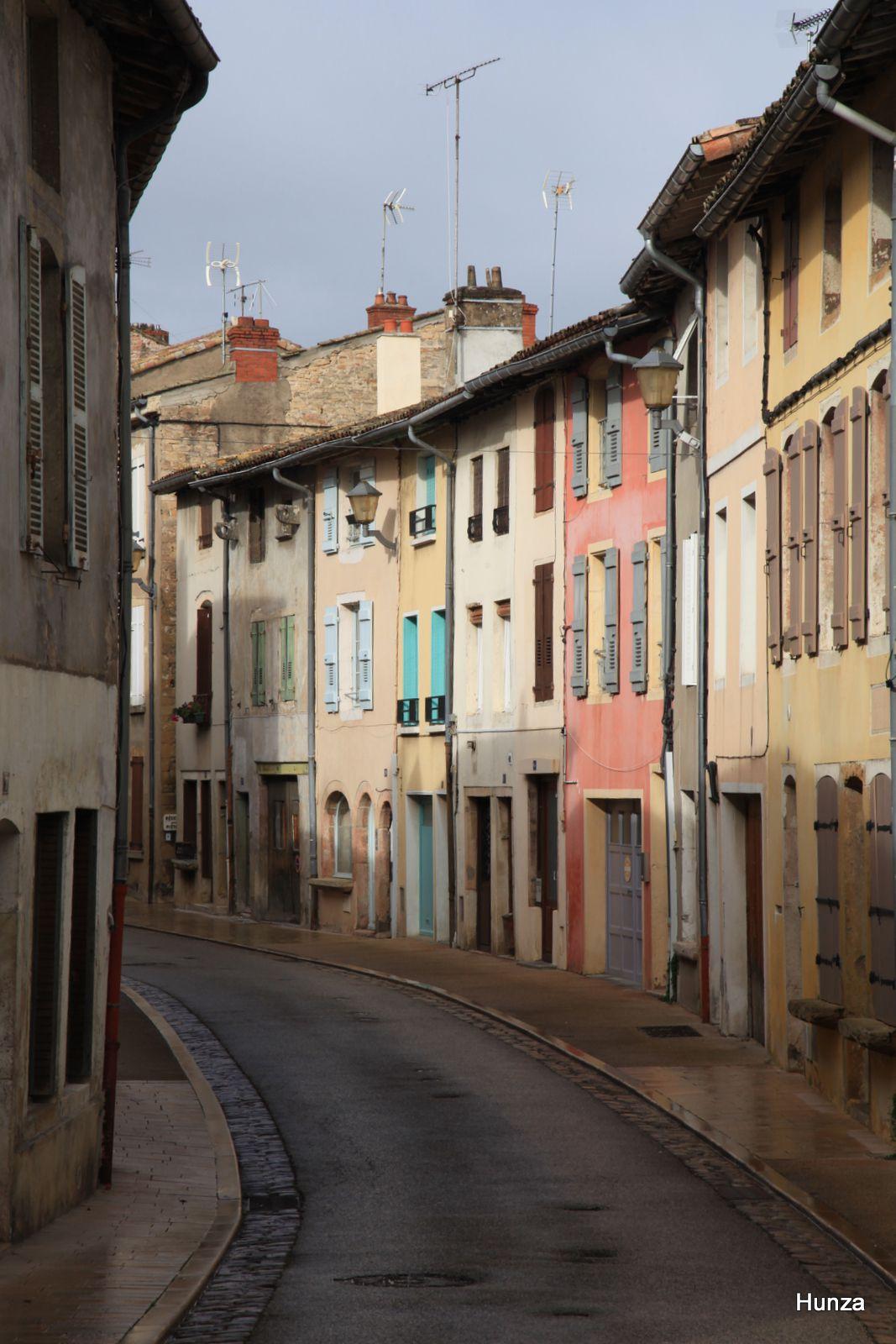 Tournus, rue de l'Hôpital